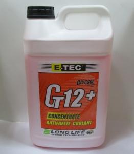 антифриз g12 4л червон конц, 120102131