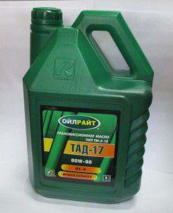 олива тад-17 тм-5-18 80w-90 gl-5, 120201351
