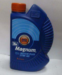 олива 15w40 1л magnum motor  plus, 120204062