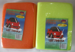 губка для мийки авто кирпич, 130001181