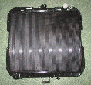 радіатор водяний 2-х ряд валдай, 140100105, газ
