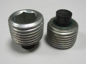 пробка магнітна кпп, 150773049, газ