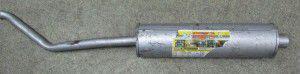 глушник з  випускн.трубою уаз-452, 151212019, уаз
