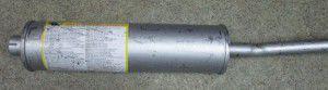 глушник з крив труб 451 довг, 151212218, уаз