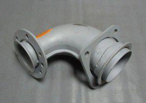 патрубок приемн камаз евро-2, 152329270, камаз маз краз