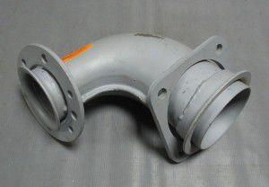 патрубок приемн камаз евро, 152582016, камаз маз краз