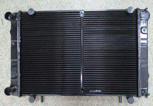 радіатор водяний 3-х газель-бізнес дв.4216, 155313042, газ