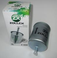 фільтр палив. zolex z-008 хомут, 157510008, газ