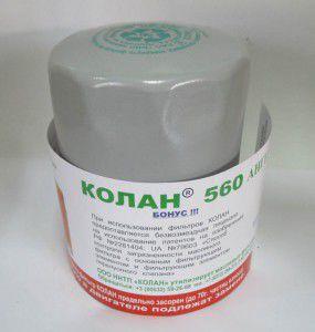 фільтр оливи колан 560, 157510601