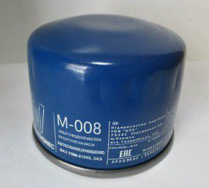 фільтр оливи м-008, 157510613, ваз