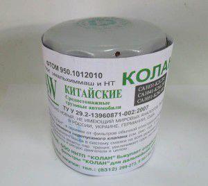 фільтр оливи колан 950, 157510763