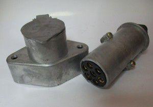 вилка-розетка 24в к-т, 190323015, камаз маз краз