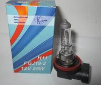 авто лампа галог, 12v 55w h11, 190501002