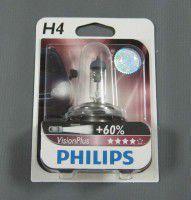 авто лампа  philips vр 12342 +60, 12v 60/55w н4, 190501079