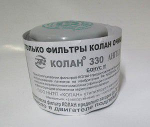 фільтр оливи колан 330, 300000729