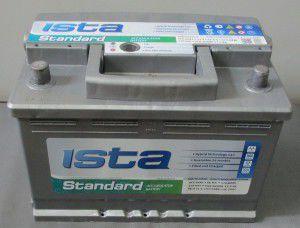 акумулятор 6ст-60 заряж.іста стандарт, 54000069
