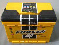 акумулятор 6ст-60 заряж.forse, 54000103