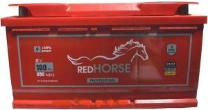 акумулятор 6ст-100 заряж.red horse, 54000152