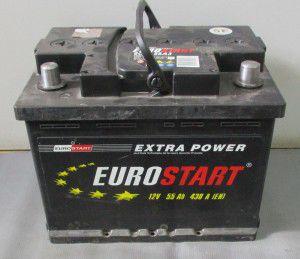акумулятор 6ст-55 заряж.eurostar, 54000167