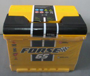 акумулятор 6ст-65 заряж. forse, 54000217