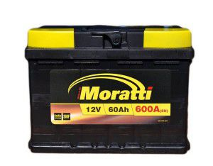 акумулятор 6ст-60 заряж. moratti tab, 54000221