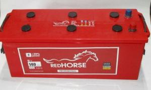 акумулятор 6ст-140 заряж.red horse, 54000335