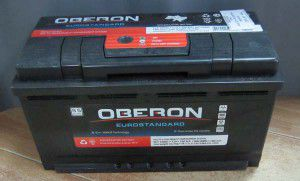 акумулятор 6ст-100 заряж. oberon, 54001105