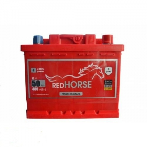 акумулятор 6ст-50 заряж red horse, 54006196