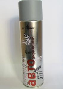 грунт-аєрозоль -сірий- акрил 500мл, 82370124